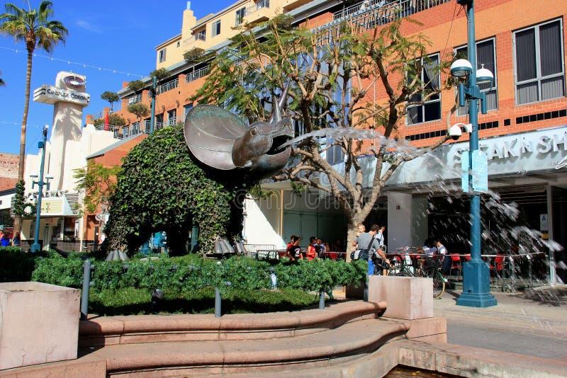 De Derde Straatpromenade van Santa Monica royalty-vrije stock afbeelding
