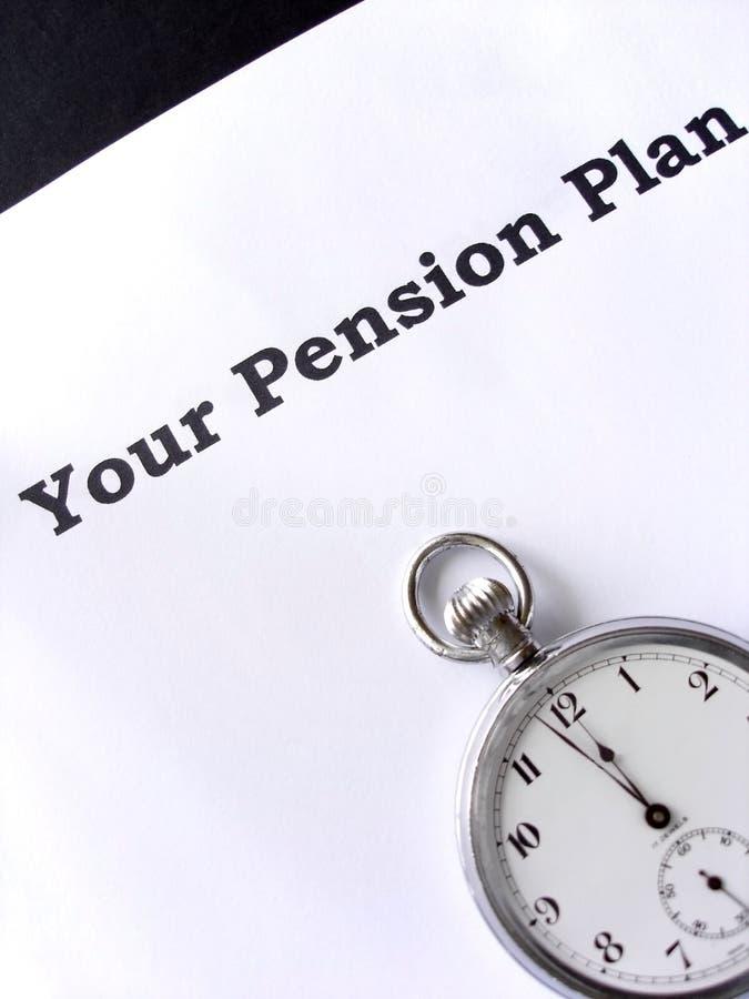 De dernière minute pour une pension images libres de droits