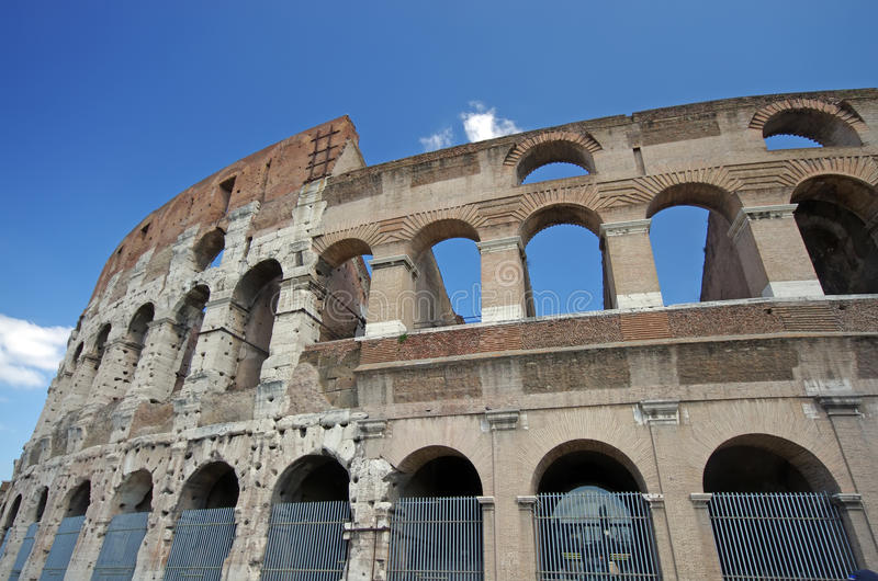 De Details Van Colosseum Stock Foto's