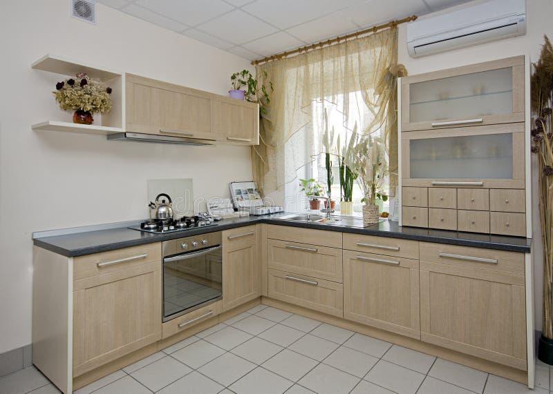 De details van de keuken stock fotografie