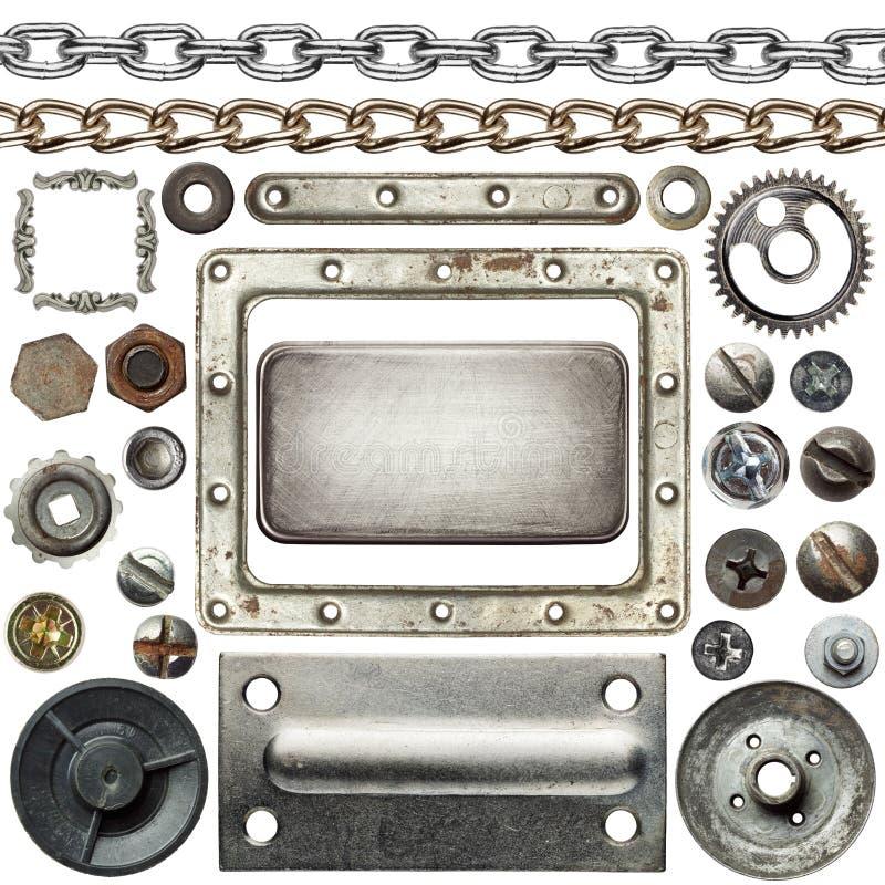 De details van het metaal royalty-vrije stock afbeeldingen