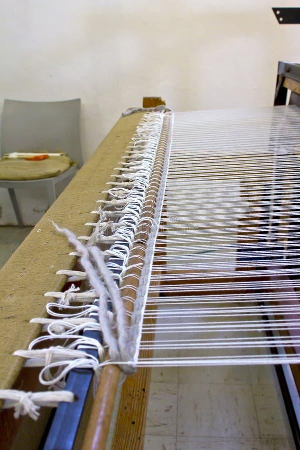 De details van het weefgetouw stock fotografie