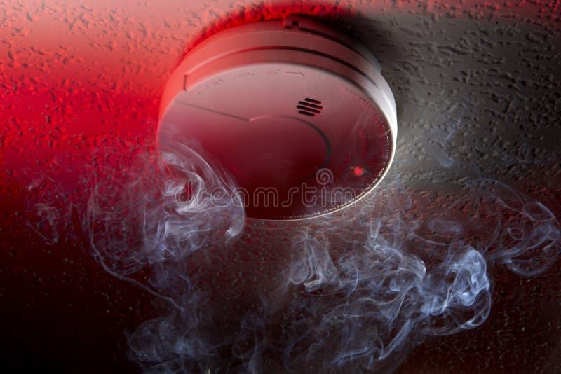 De detector van de rook stock fotografie