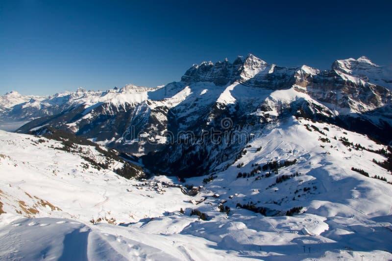 De Deuken du Midi van het panorama stock foto