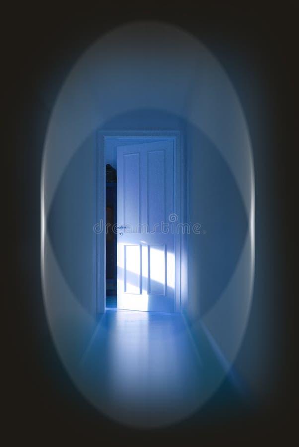 De deur stock afbeelding