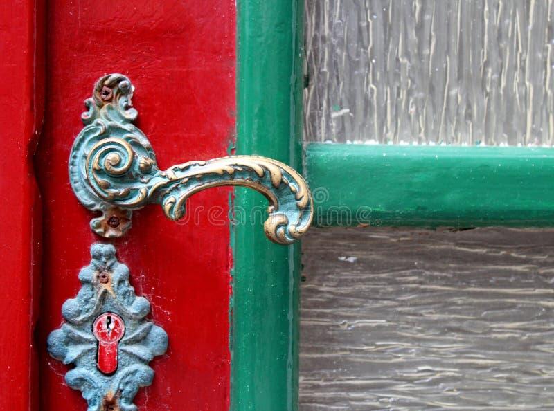 De deur royalty-vrije stock afbeelding