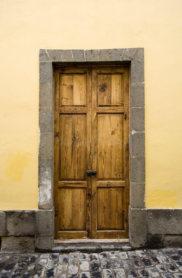 De deur van Canarische Eilanden royalty-vrije stock afbeelding