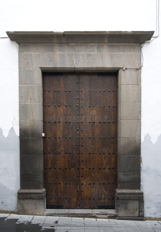 De deur van Canarische Eilanden royalty-vrije stock fotografie