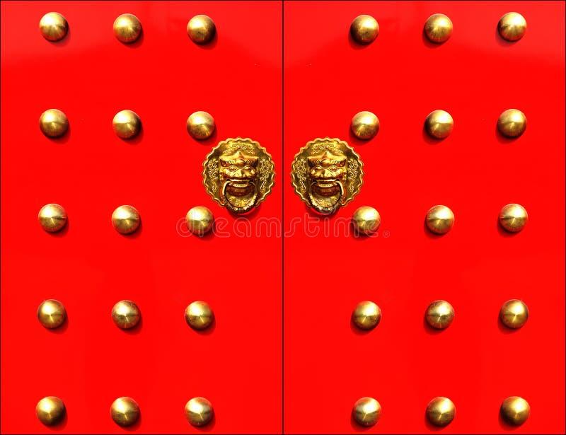 De deur van China stock fotografie