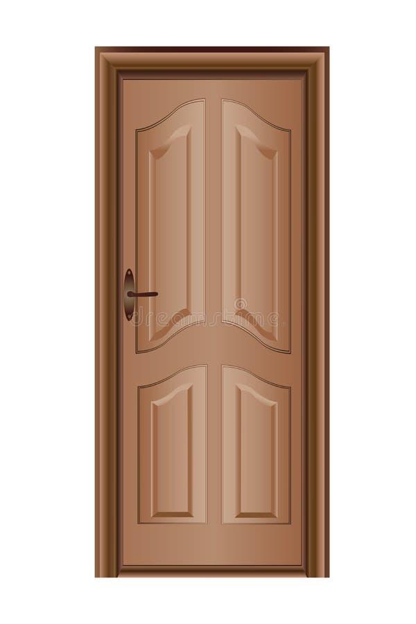De deur van de beuk vector illustratie
