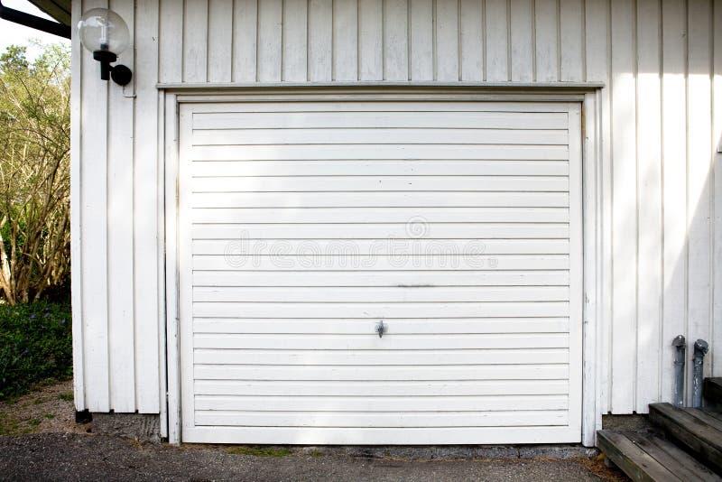 De Deur van de garage stock fotografie