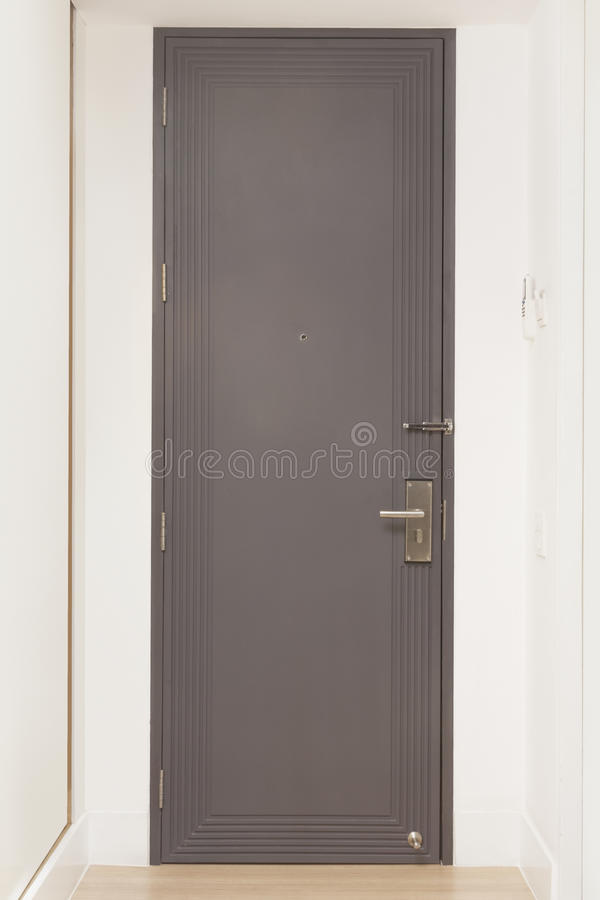 De deur van de hotelruimte stock fotografie