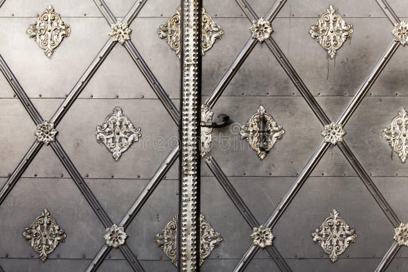 De deur van de ingang royalty-vrije stock foto