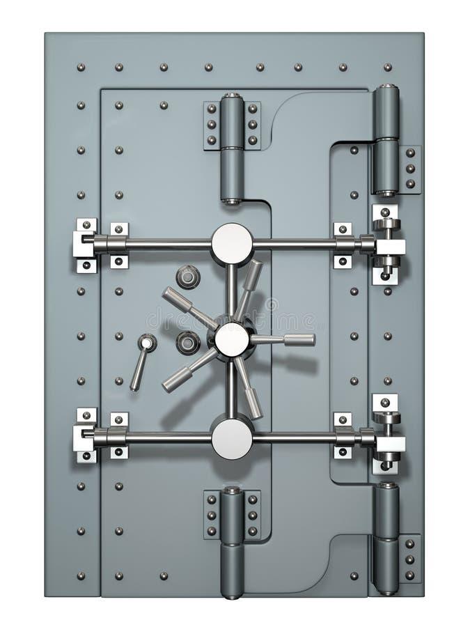 De deur van de kluis