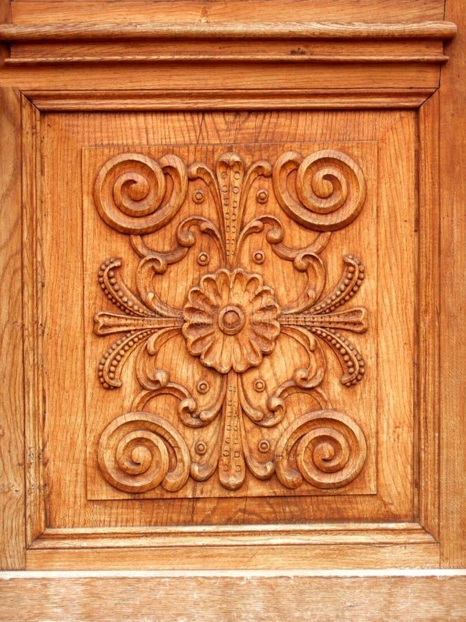 De deur van de luxe stock afbeelding