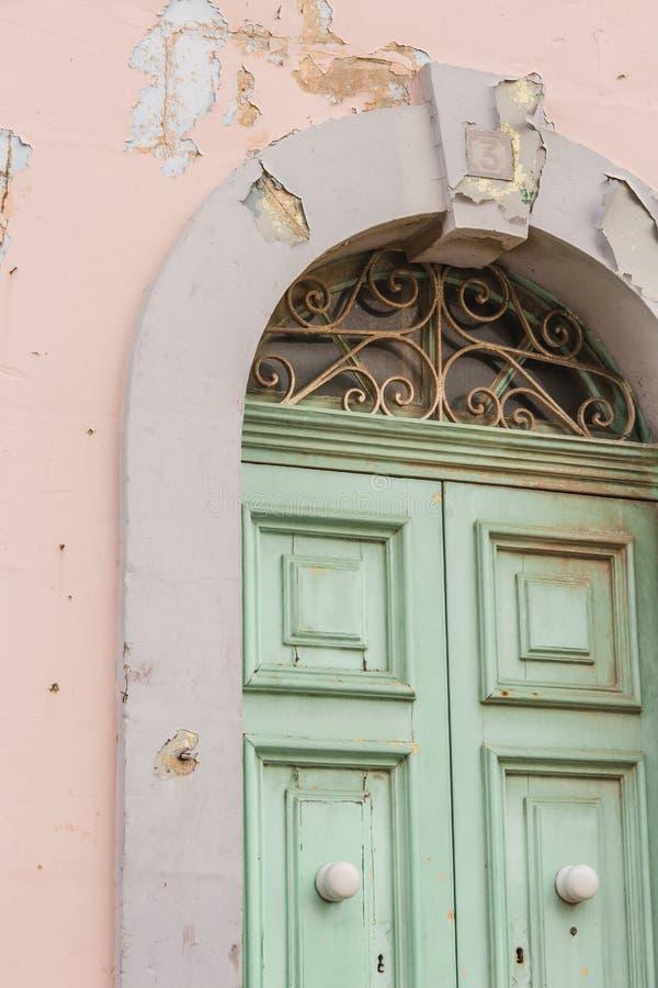 De deur van de schilverf royalty-vrije stock afbeelding