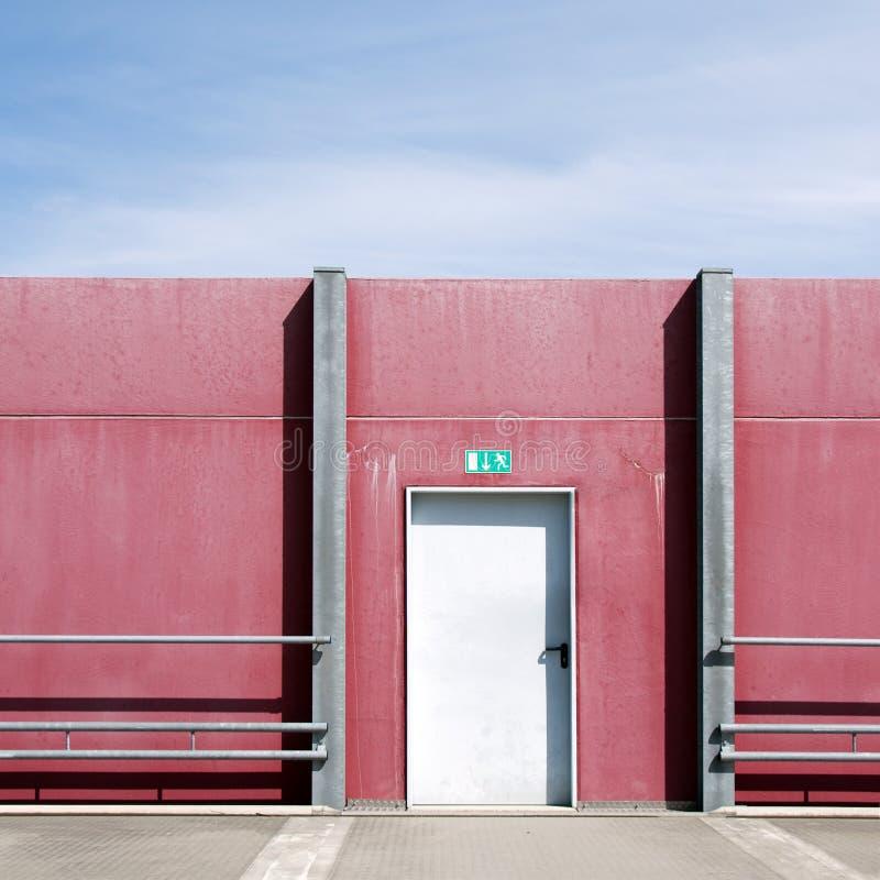 De deur van de uitgang royalty-vrije stock foto's
