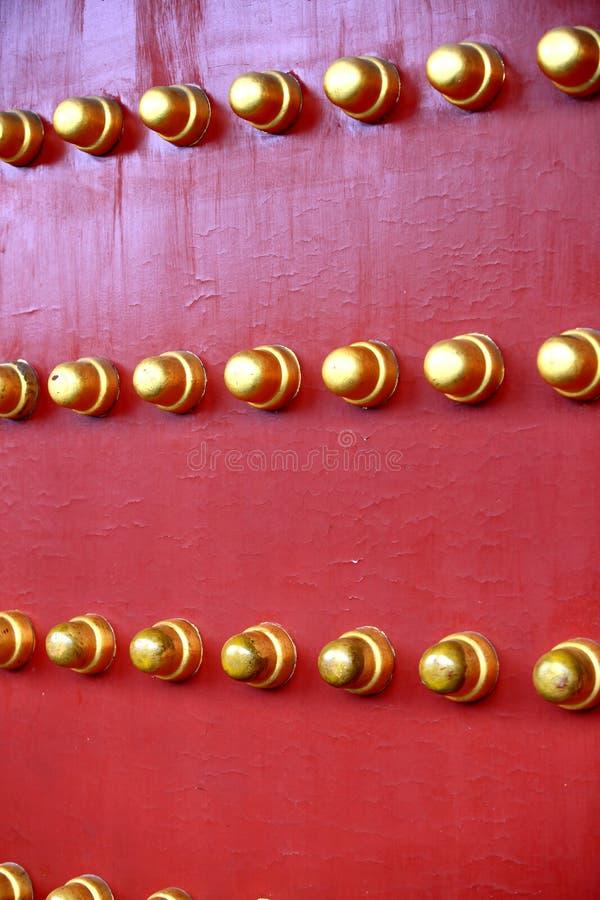De deur van de Verboden Stad royalty-vrije stock foto's