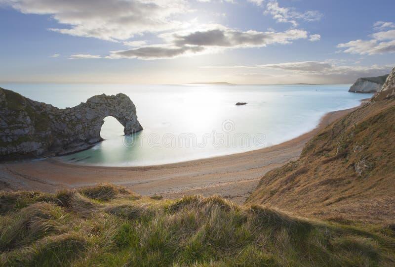 De Deur van Durdle in Dorset royalty-vrije stock foto