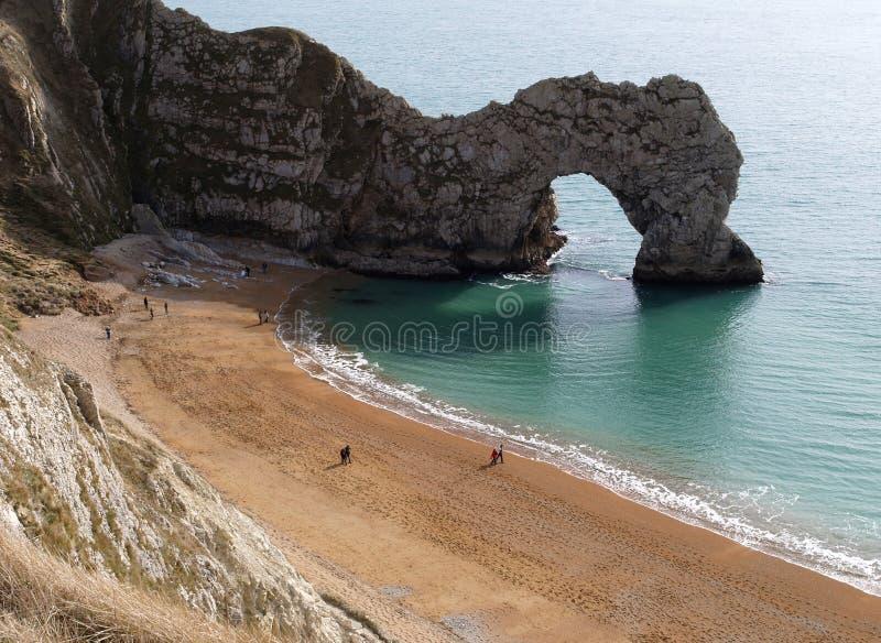De Deur van Durdle in Dorset stock foto