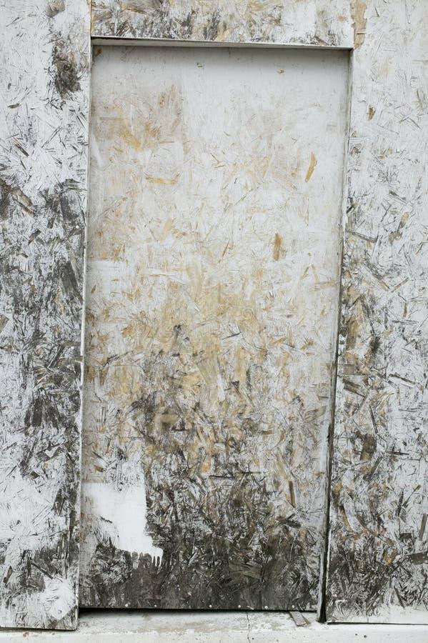 De deur van Grunge royalty-vrije stock afbeeldingen