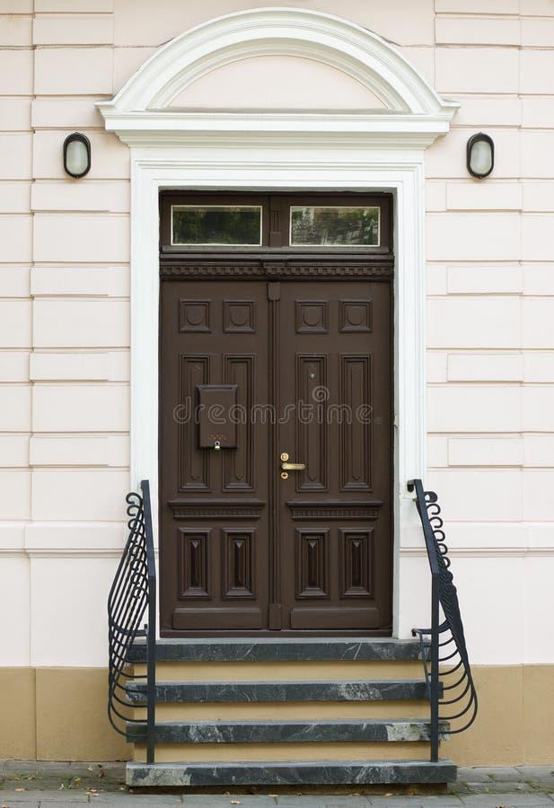 De deur van het huis royalty-vrije stock foto's