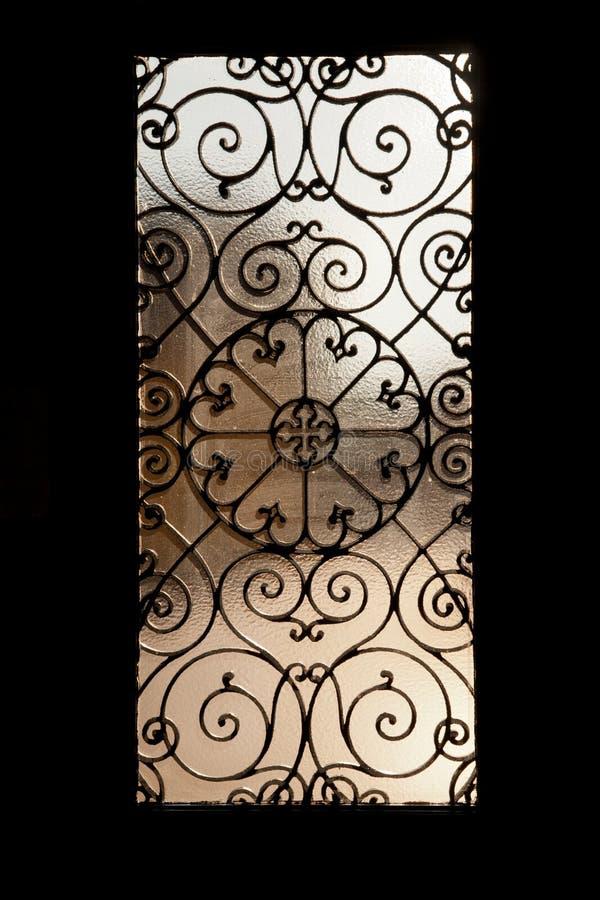 De deur van het metaal stock foto's