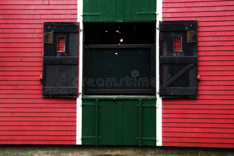 De deur van het pakhuis stock foto's