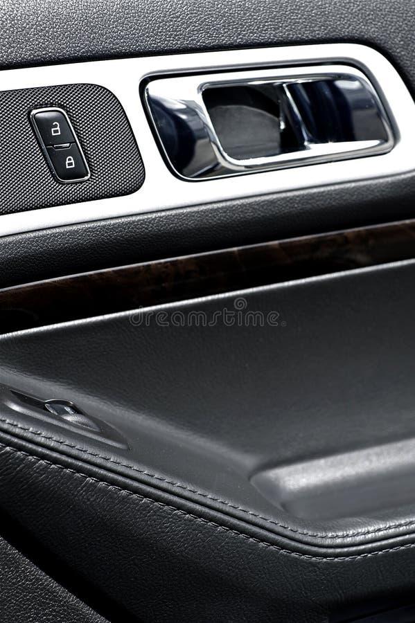 De Deur van het voertuig binnen stock fotografie