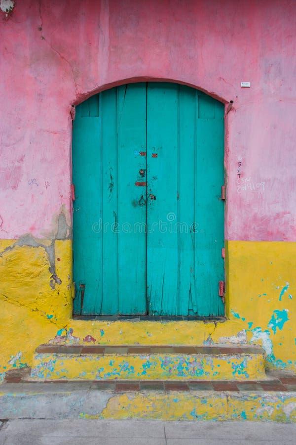 De deur van Nicaragua stock foto