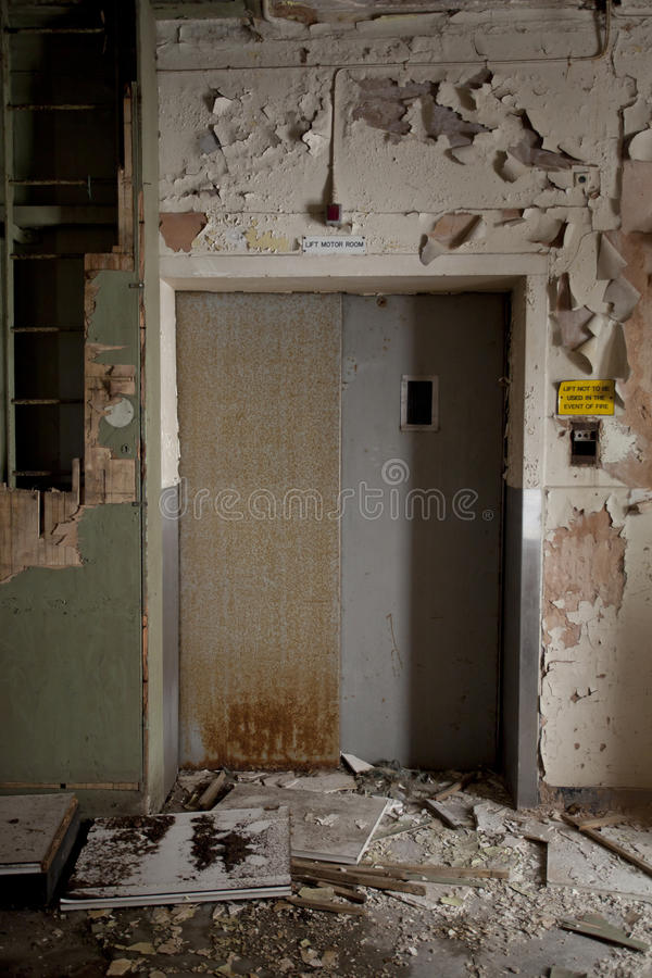 De deuren van de lift stock fotografie
