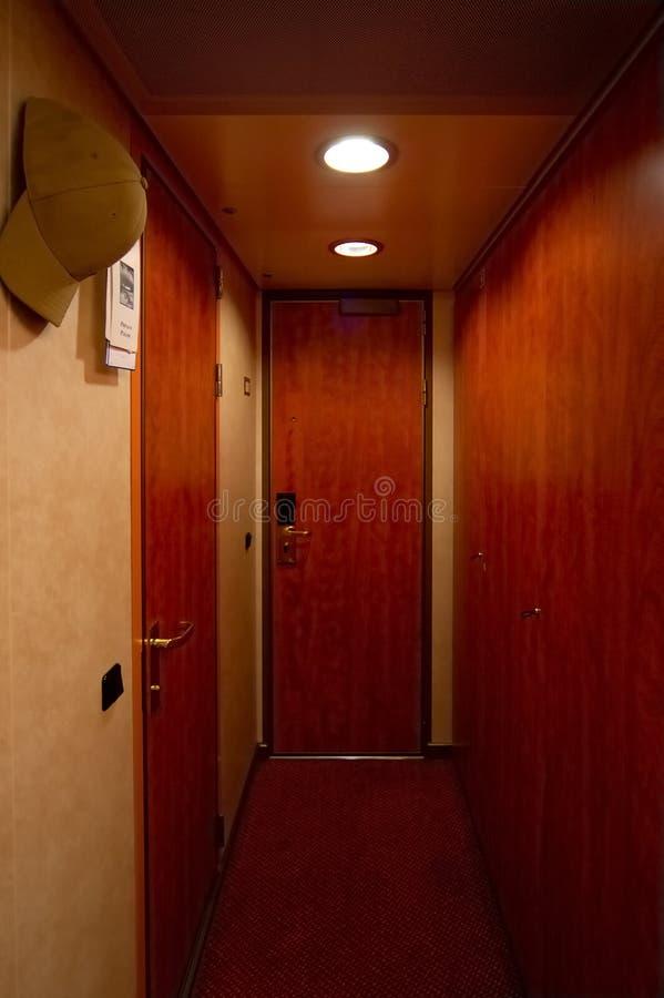 De Deuren Van De Staatsiezaal Van Het Hotel Stock Fotografie