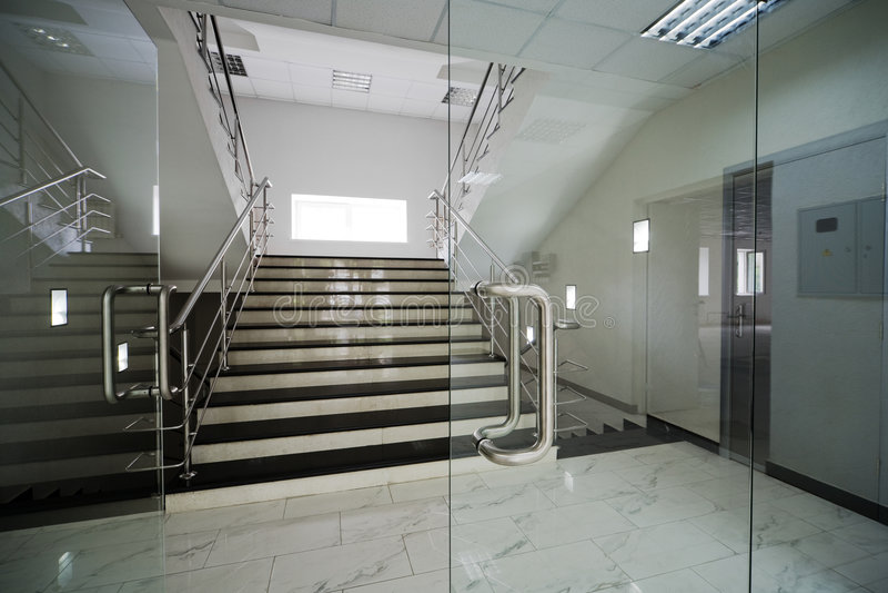 De deuren van het glas royalty-vrije stock afbeeldingen