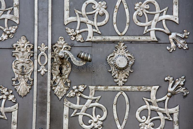 De deurhandvat van het metaal royalty-vrije stock foto