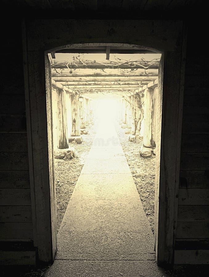 De deuropening stock afbeeldingen