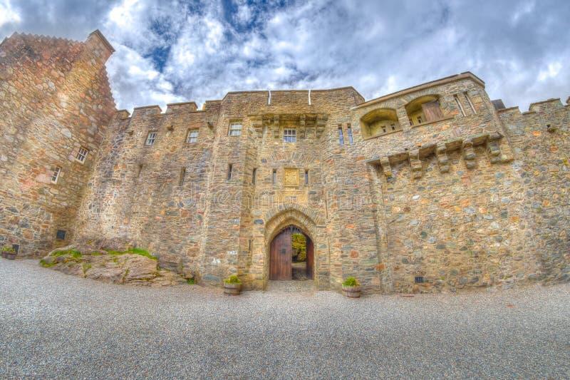 De deuropening van Eileandonan royalty-vrije stock afbeelding