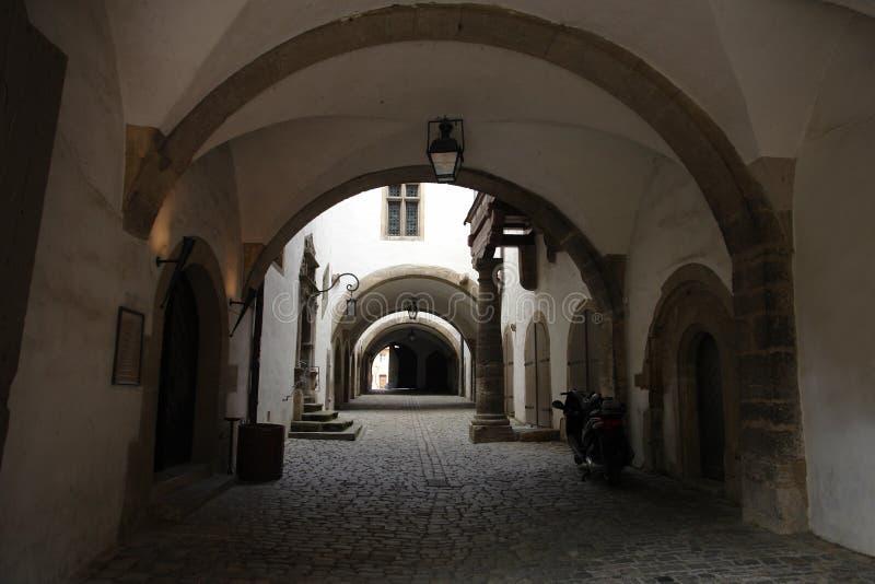 De Deuropening van Rothenburg stock foto