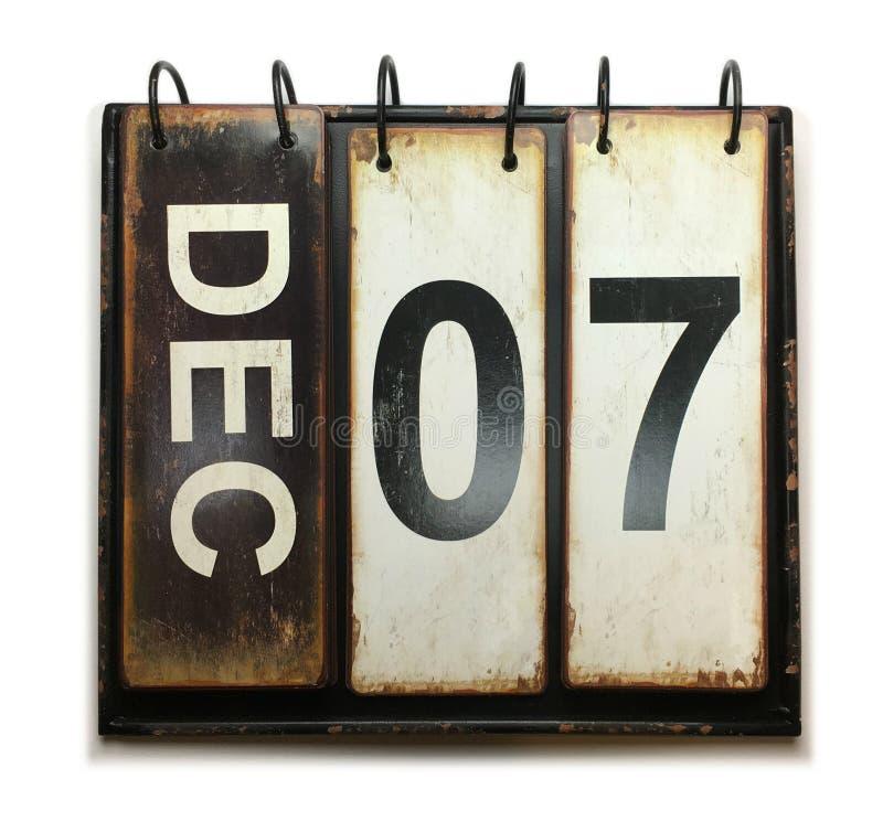 7 de dezembro imagens de stock royalty free