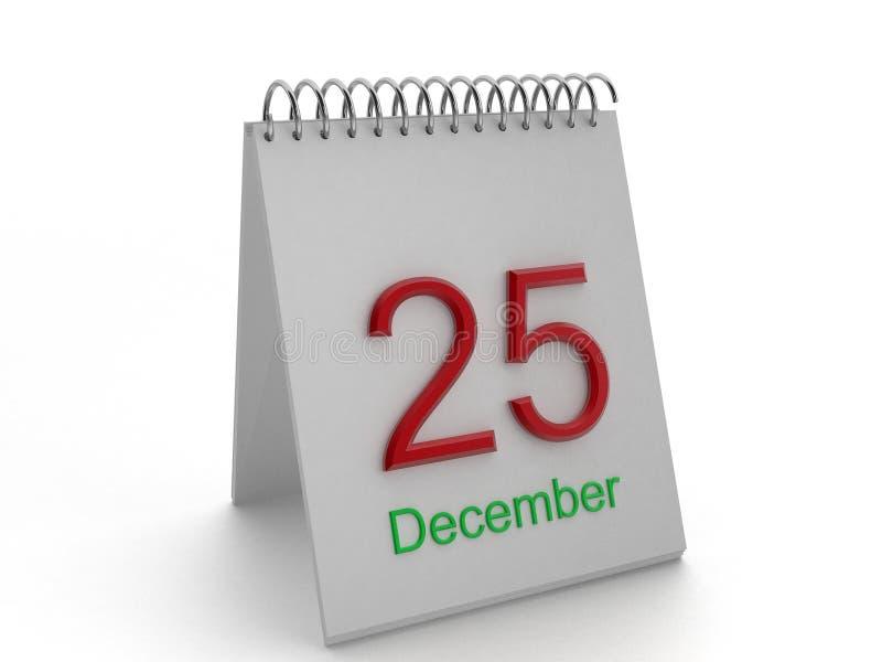 25 de dezembro ilustração royalty free
