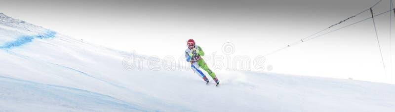 28 de dezembro de 2017 - Bormio Itália - Audi FIS Ski World Cup foto de stock