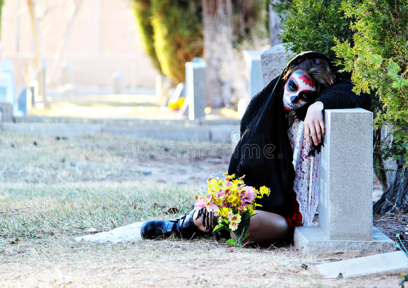 de Dia Los muertos stroskanie obrazy stock