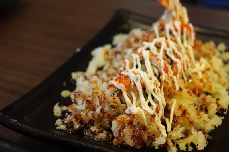 De dia van het sushibroodje stock afbeelding