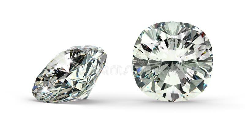 De Diamant van de kussenbesnoeiing vector illustratie