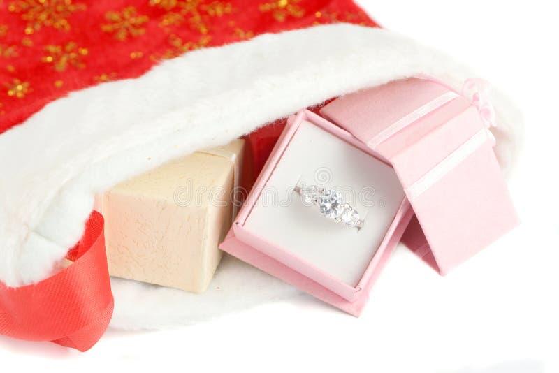 De diamant van Kerstmis stock fotografie