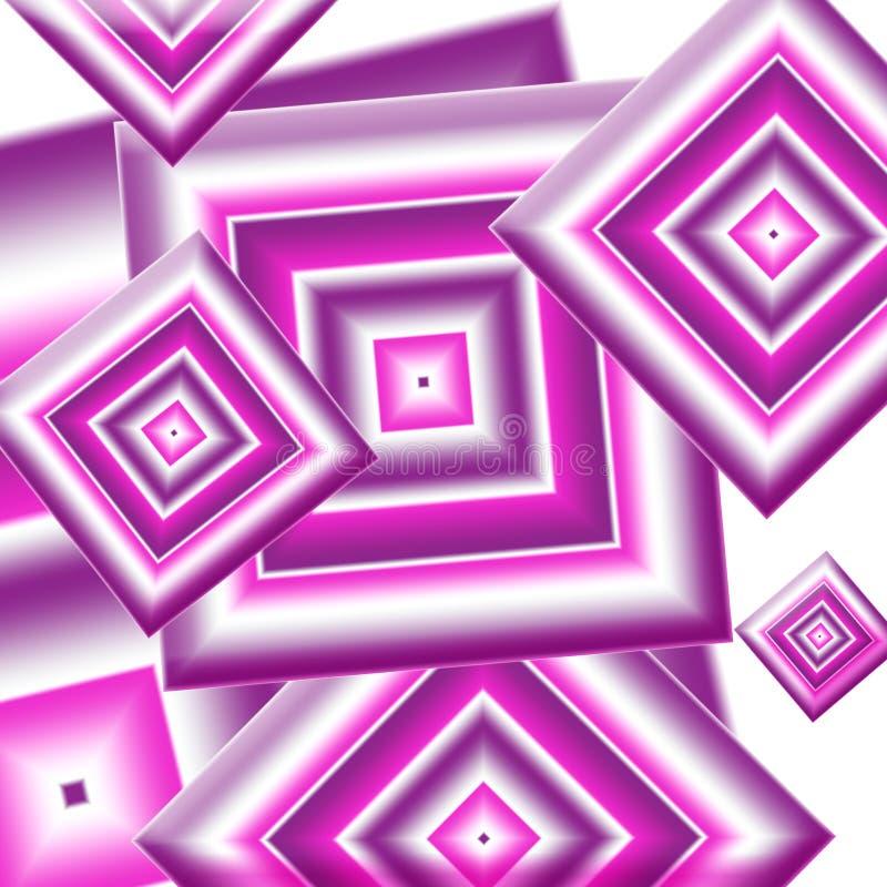 De diamanten van Girlie vector illustratie