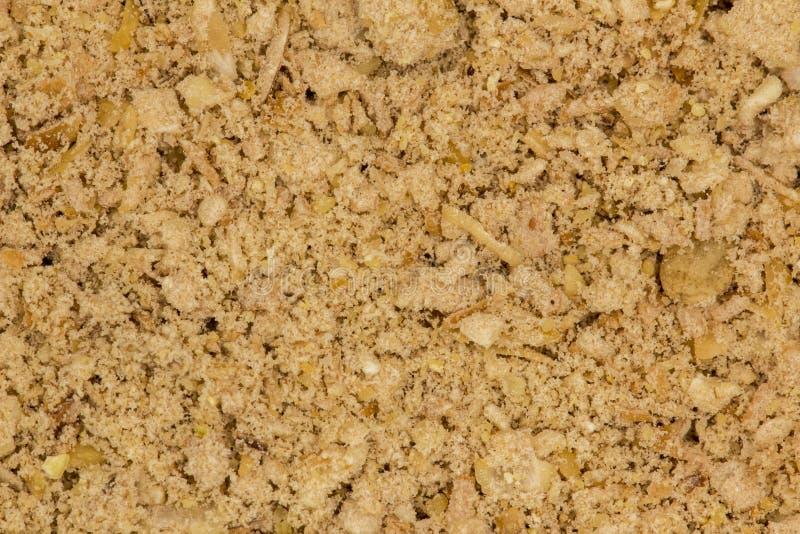 De dichte omhooggaande textuur van de graangewassenvezel stock fotografie