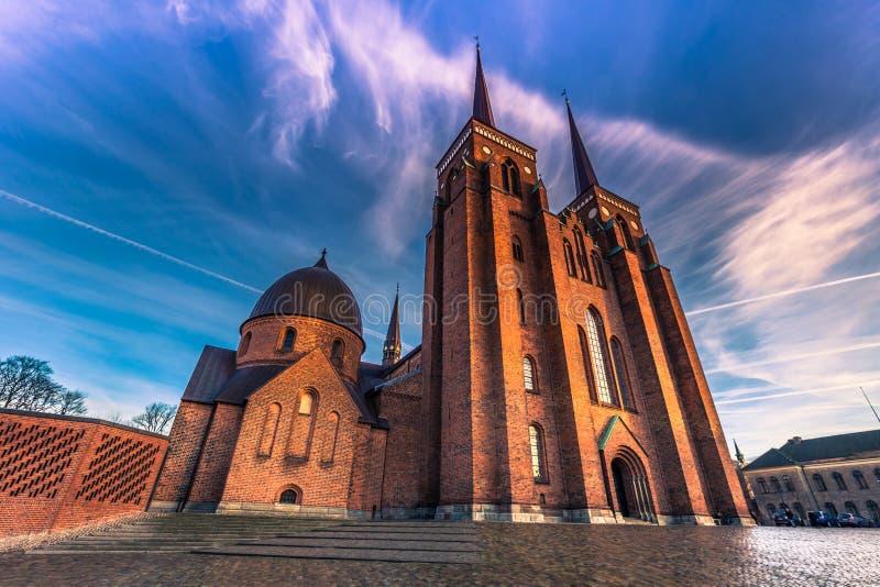 4 de diciembre de 2016: Frente de la catedral de St Luke en Roski imagen de archivo libre de regalías