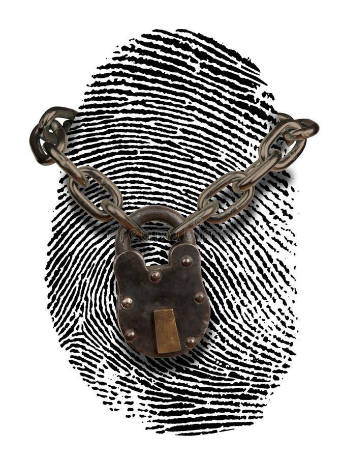 De diefstal van identiteitskaart royalty-vrije stock afbeelding