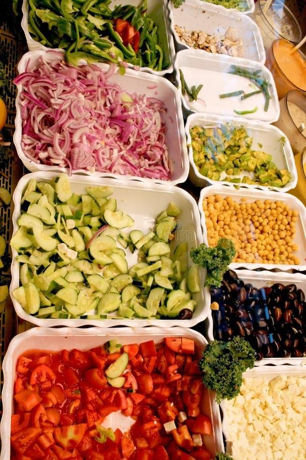 De Dienbladen van het voedsel royalty-vrije stock foto