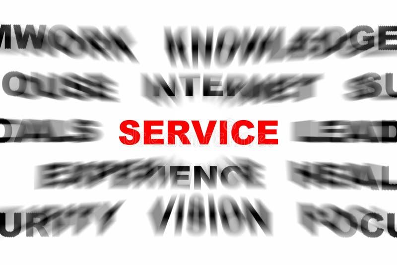 De dienst stock illustratie